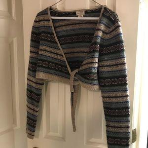 Ralph Lauren All Wool Large Shrug